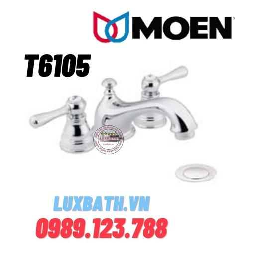 Vòi chậu lavabo nóng lạnh Moen T6105