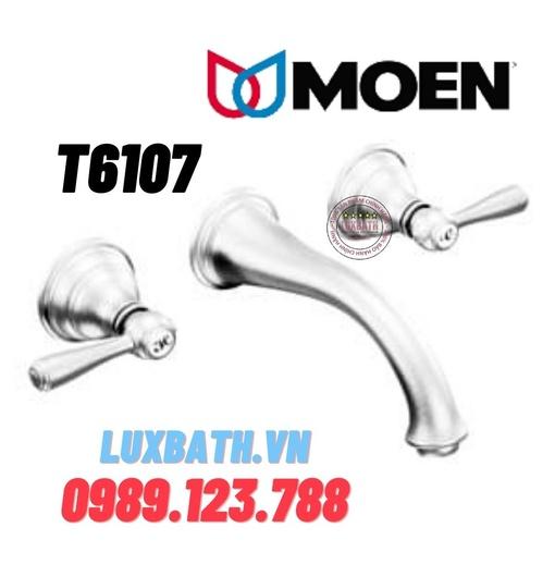 Vòi chậu lavabo nóng lạnh Moen T6107