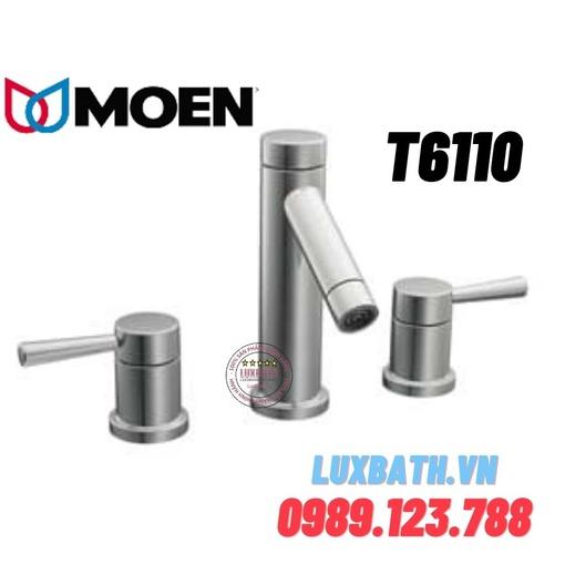 Vòi chậu lavabo nóng lạnh Moen T6110