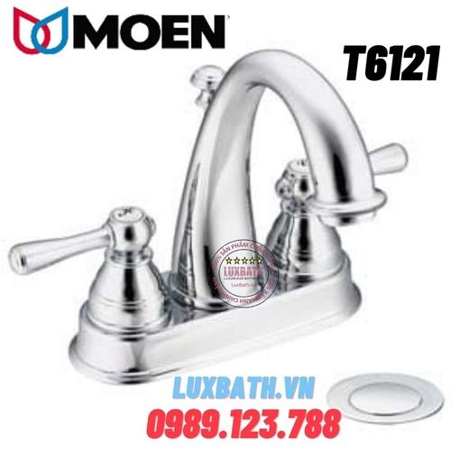 Vòi chậu lavabo nóng lạnh Moen T6121