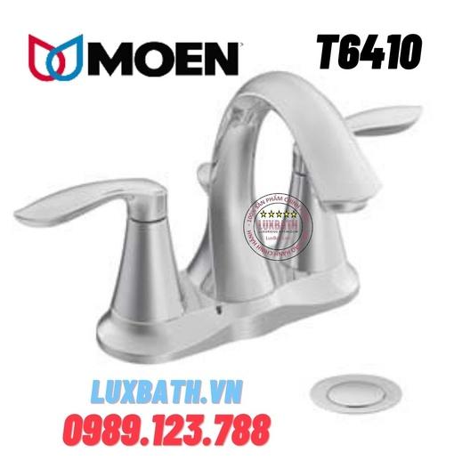 Vòi chậu lavabo nóng lạnh Moen T6410