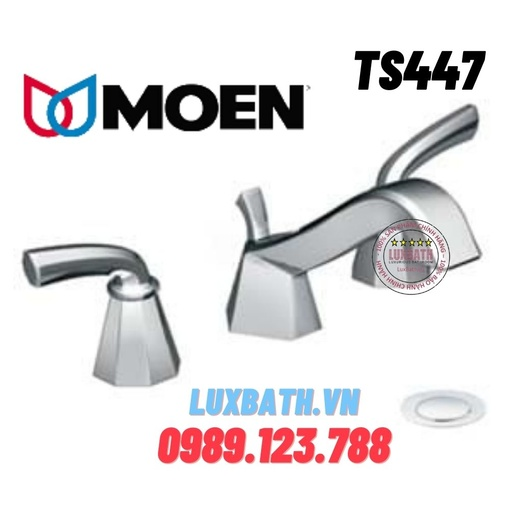Vòi chậu lavabo nóng lạnh Moen TS447