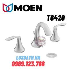Vòi chậu lavabo nóng lạnh Moen T6420