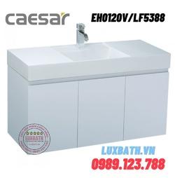 Bộ Tủ chậu lavabo Treo Tường Caesar EH0120V/LF5388