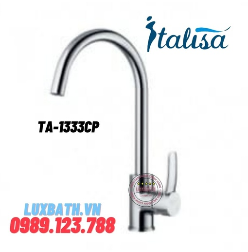 Vòi chậu rửa bát ITALISA Ta-1333CP