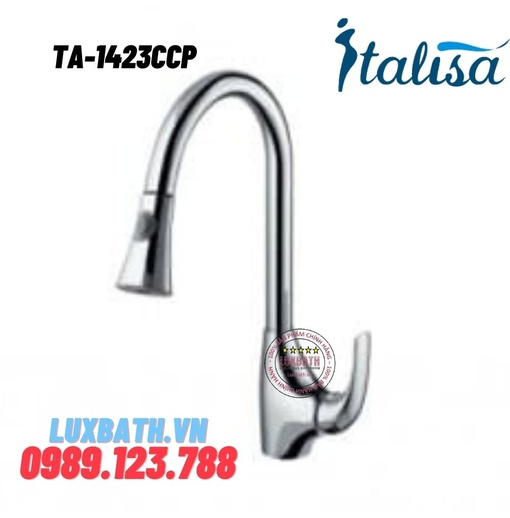 Vòi chậu rửa bát ITALISA Ta-1423CCP