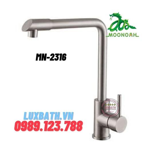 Vòi rửa bát inox SUS 304 Moonoah MN-2316