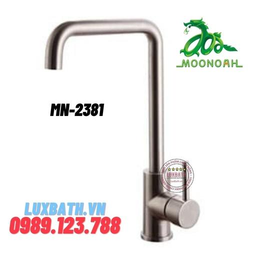 Vòi rửa bát inox SUS 304 Moonoah MN-2381