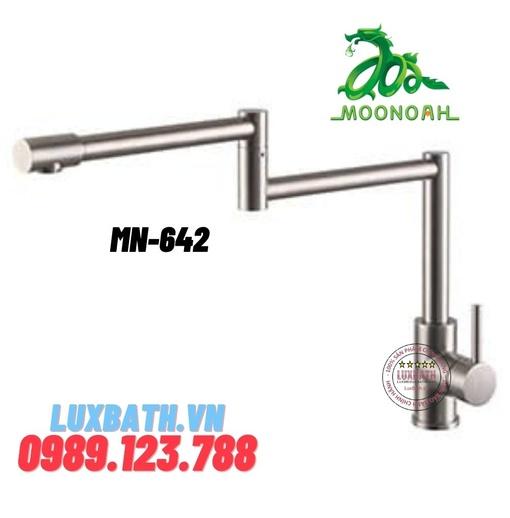 Vòi rửa bát inox SUS 304 Moonoah MN-642