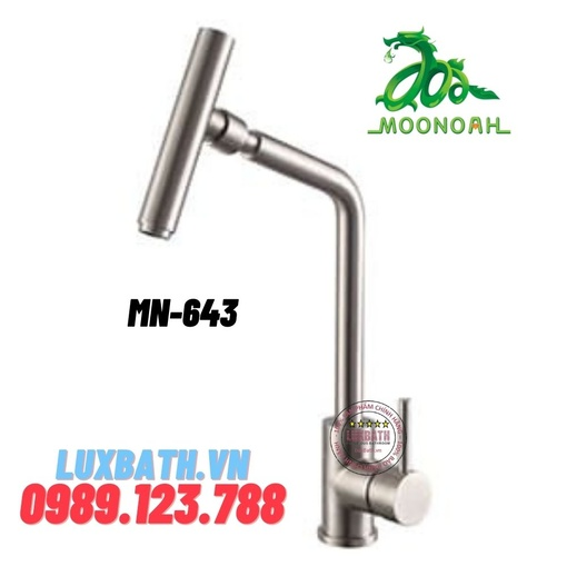 Vòi rửa bát inox SUS 304 Moonoah MN-643