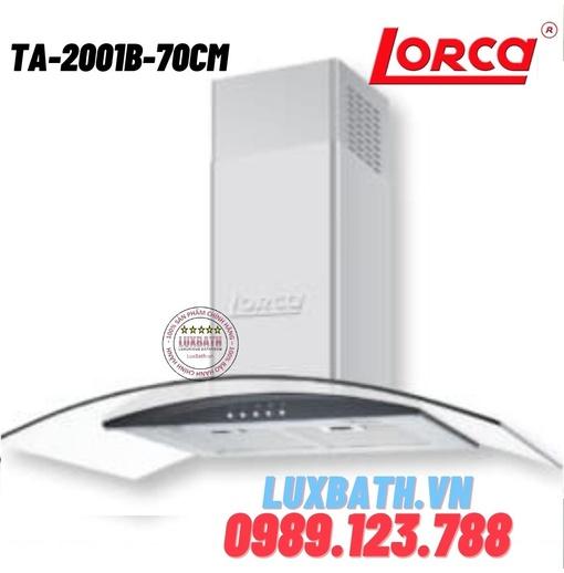 Máy hút mùi Lorca TA-2001B-70