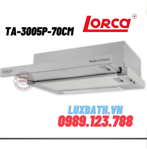 Máy hút mùi Lorca kiểu classic TA-3005P-70cm