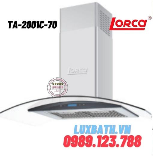 Máy hút mùi Lorca TA-2001C-70