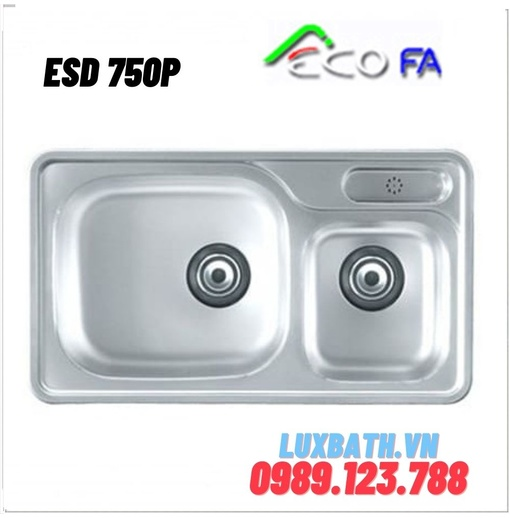 Chậu rửa bát Ecofa ESD 750P