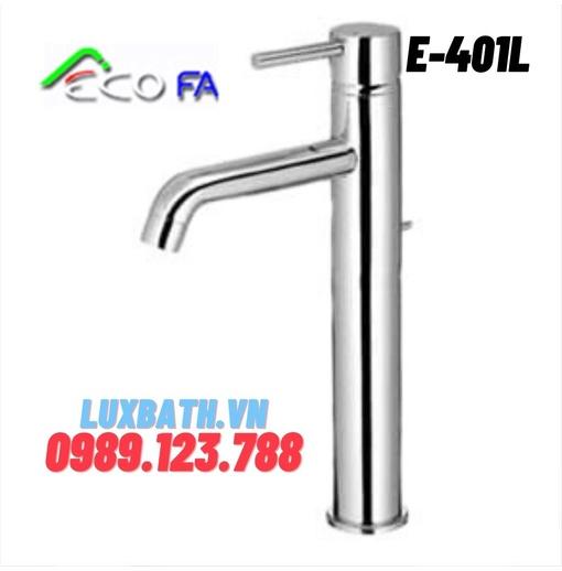 Vòi Lavabo nóng lạnh Hàn Quốc ECOFA E-401L(25cm)