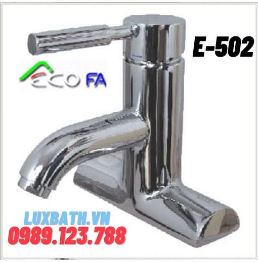 Vòi Lavabo nóng lạnh Hàn Quốc ECOFA E-502
