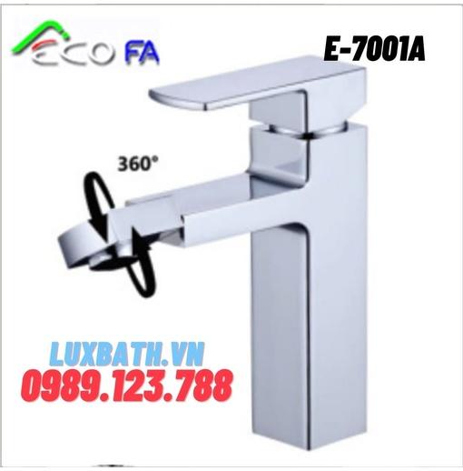 Vòi Lavabo nóng lạnh Hàn Quốc ECOFA E-7001A