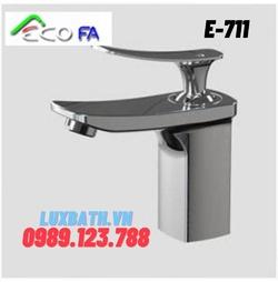 Vòi Lavabo nóng lạnh Hàn Quốc ECOFA E-711 E-711-A