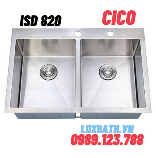 Chậu rửa bát Hàn Quốc CICO ISD 820