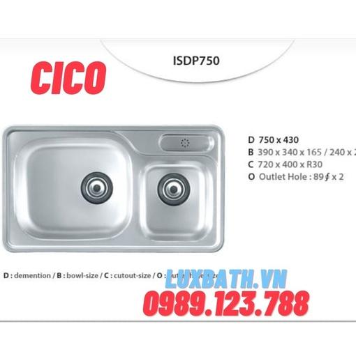 Chậu rửa bát Hàn Quốc CICO ISD 870
