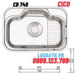 Chậu rửa bát Hàn Quốc CICO CB 740