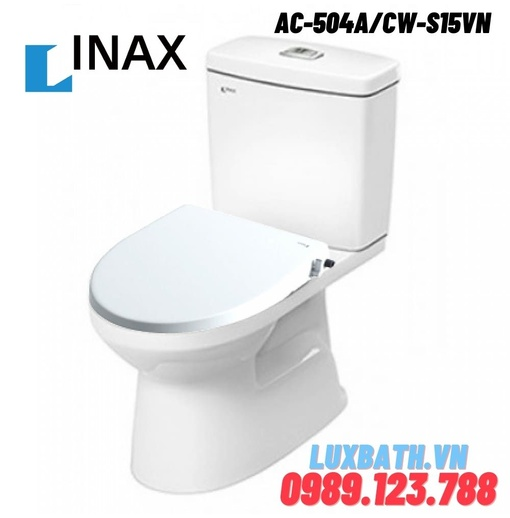 Bồn Cầu  Nắp Rửa Cơ INAX AC-504A+CW-S15VN