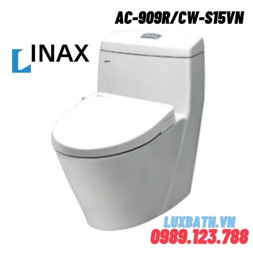 Bồn cầu 1 khối nắp rửa cơ Inax AC-909R+CW-S15VN