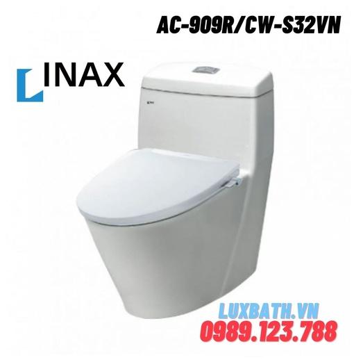 Bồn cầu 1 khối nắp rửa cơ Inax AC-909R+CW-S32VN
