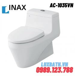 Bồn cầu 1 khối nắp rửa cơ INAX AC-1035+CW-S15VN