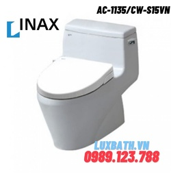 Bồn cầu nắp rửa cơ Inax AC-1135+CW-S15VN