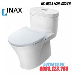 Bồn cầu 1 khối nắp rửa cơ INAX AC-959A+CW-S32VN