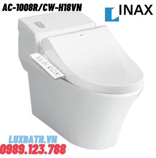 Bồn Cầu Nắp Điện Tử INAX AC-1008R+CW-H18VN