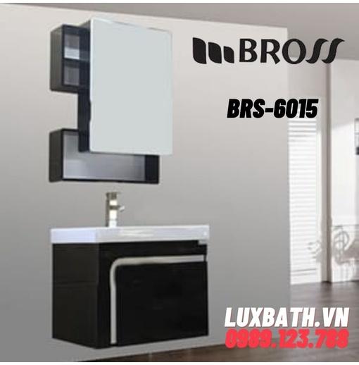 Bộ tủ chậu nhựa PVC 1 ngăn Bross BRS-0615