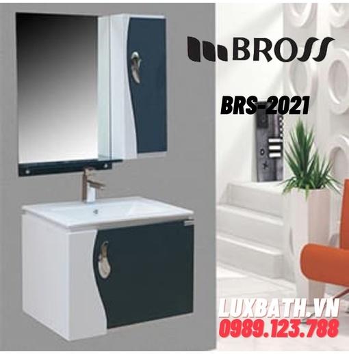 Bộ tủ chậu nhựa PVC 1 ngăn Bross BRS-2021