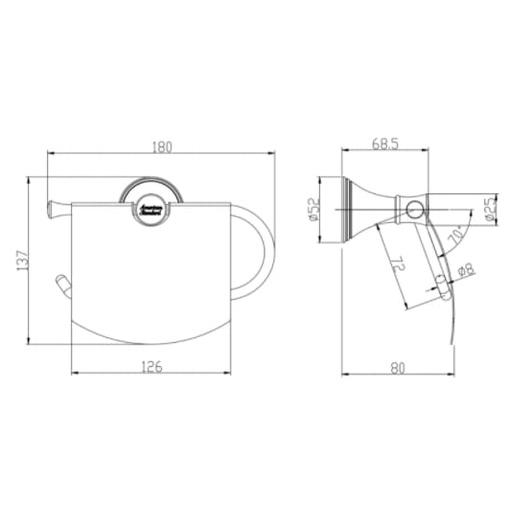 Đựng giấy vệ sinh American Standard WF-0287