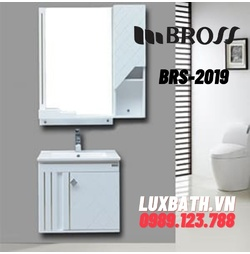 Bộ tủ chậu nhựa PVC Bross BRS-2019
