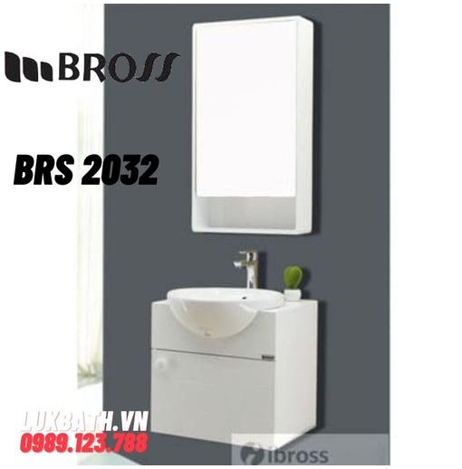 Bộ tủ chậu nhựa PVC Bross BRS 2032