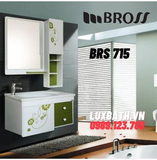 Bộ tủ chậu nhựa Bross BRS 715