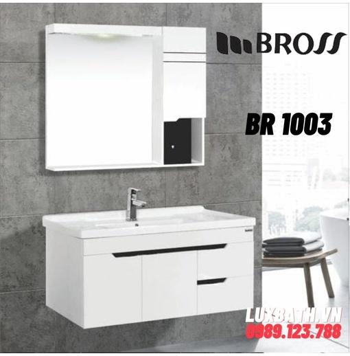 Bộ tủ chậu nhựa PVC Bross BR 1003