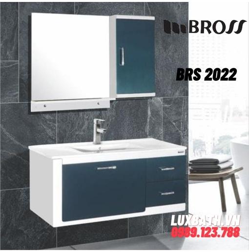 Bộ tủ chậu nhựa PVC Bross BRS 2022