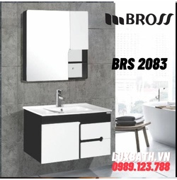 Bộ tủ chậu nhựa Bross BR 2083