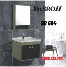 Bộ tủ chậu nhựa Bross BR 604