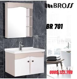Bộ tủ chậu nhựa Bross BR 701