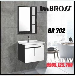 Bộ tủ chậu nhựa Bross BR 702