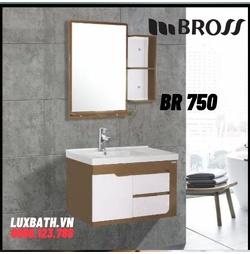 Bộ tủ chậu nhựa Bross BR 750