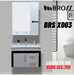 Bộ tủ chậu nhựa Bross BRS X003