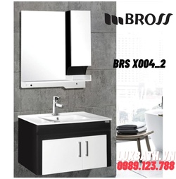 Bộ tủ chậu nhựa Bross BRS X004_2