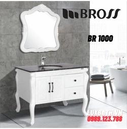 Bộ tủ chậu nhựa PVC Bross BR 1000
