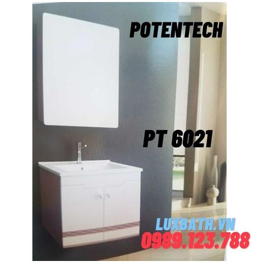 Bộ tủ chậu nhựa PVC Potentech PT 6021