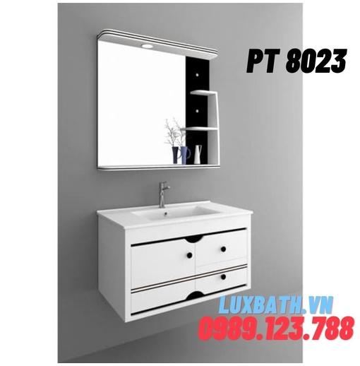 Bộ tủ chậu nhựa PVC Potentech PT 8023